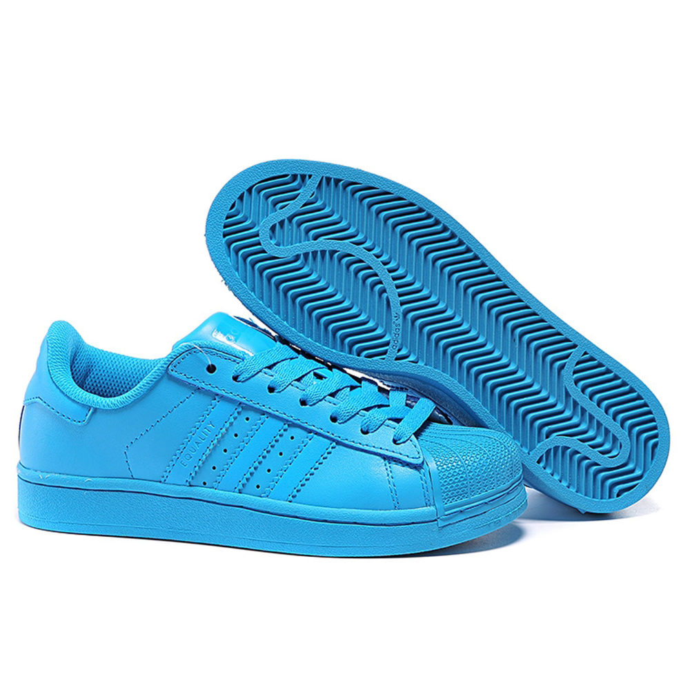 adidas superstar supercolor by Pharrell Williams blue