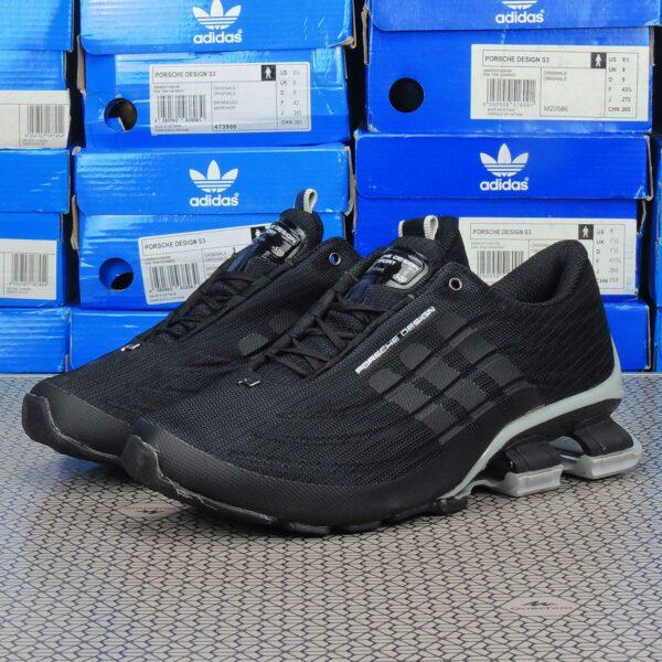 adidas porsche design bounce S4 black grey купить