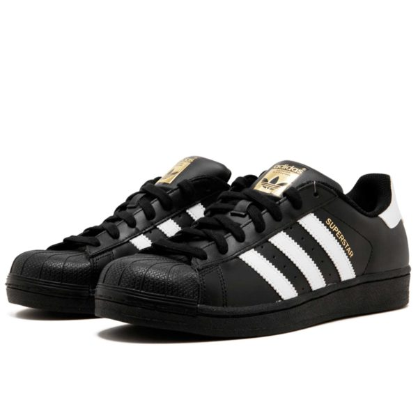 adidas superstar 2 black white b23642 купить