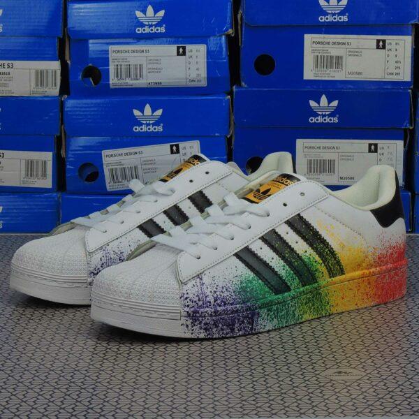 adidas superstar pride pack white купить