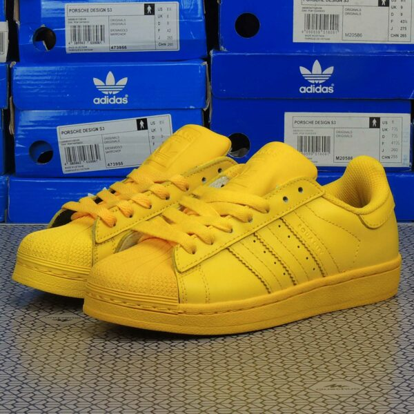 adidas superstar supercolor by Pharrell Williams Yellow купить