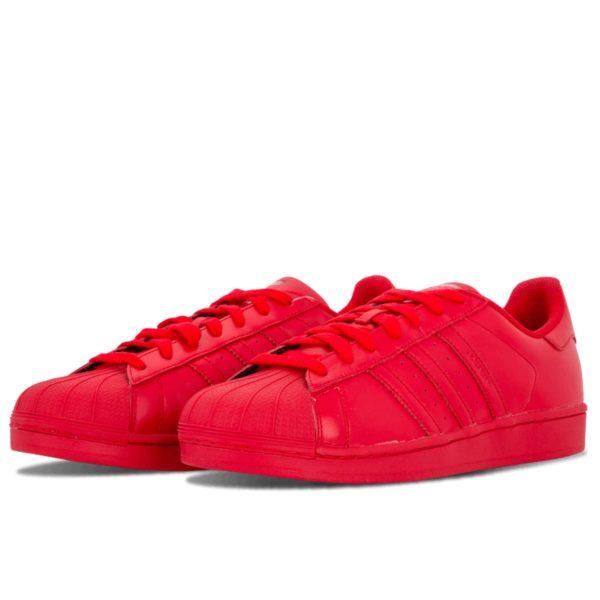 adidas superstar supercolor red S41833 купить