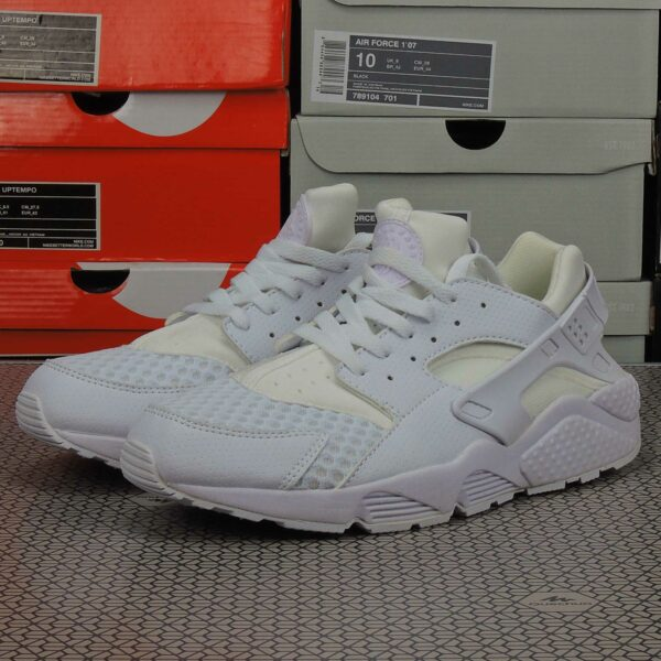 nike air huarache platinum white 318429_111 купить