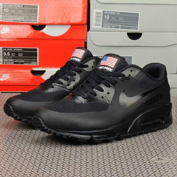 Nike Air Max 90 Hyperfuse Independence Day 2013 Black купить