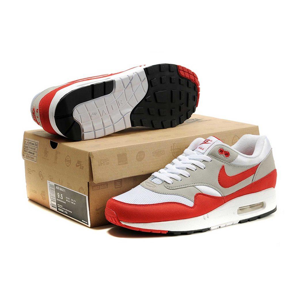 Nike Air Max 1 87 Red Grey Купить
