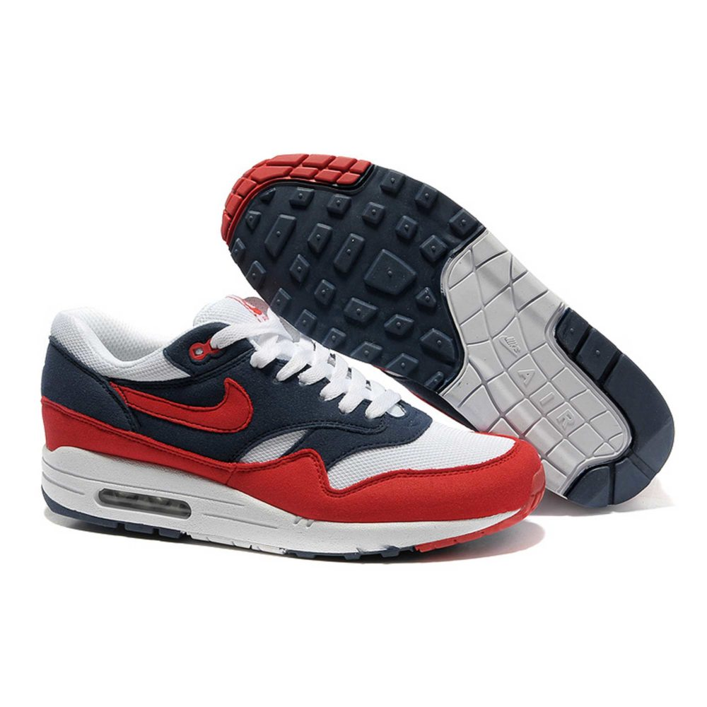 Nike Air Max 1 87 Blue Red White Купить