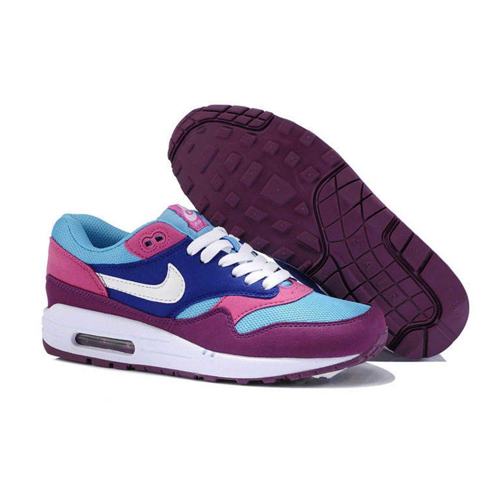 Nike Air Max 1 87 Blue Pink Purple Интернет магазин