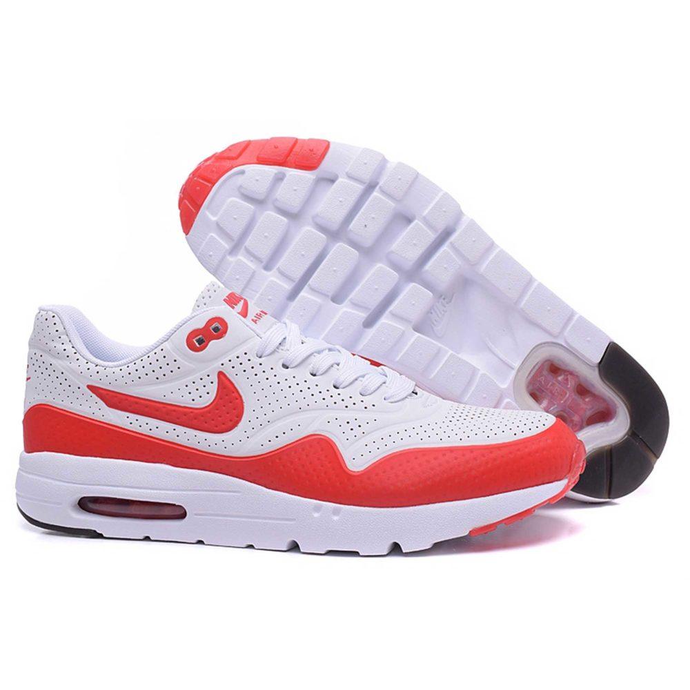 Nike Air Max 1 (87) «Ultra Moire» White Red Интернет магазин