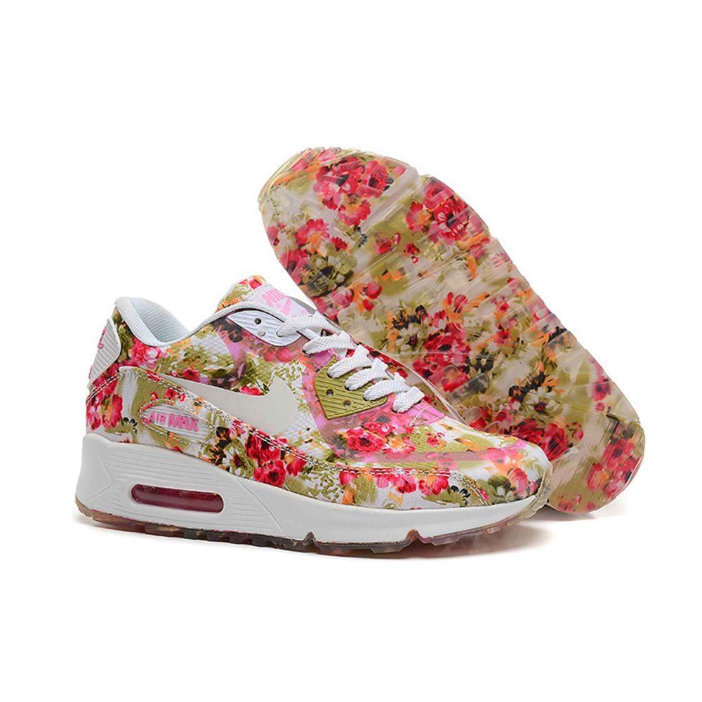 Nike Air Max 90 Floral Peach Rose Купить