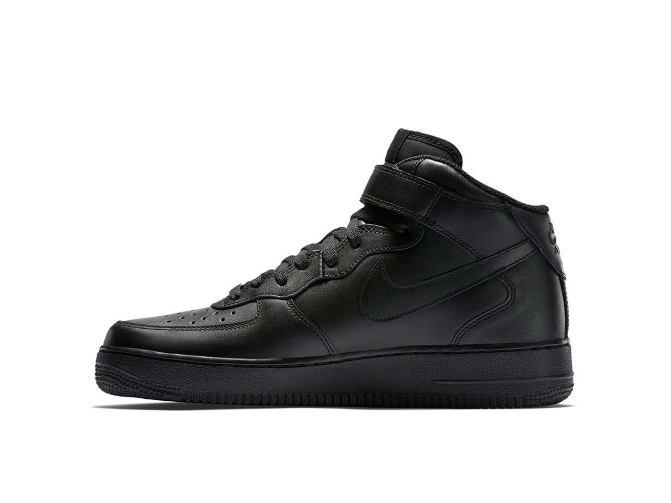 nike air force 1 mid black 315123_001 купить