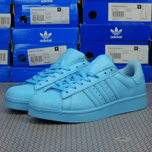 adidas superstar supercolor light blue купить