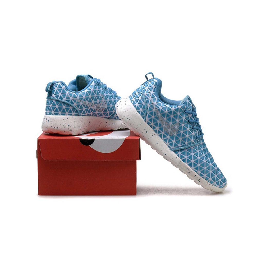 nike roshe run metric qs blue купить