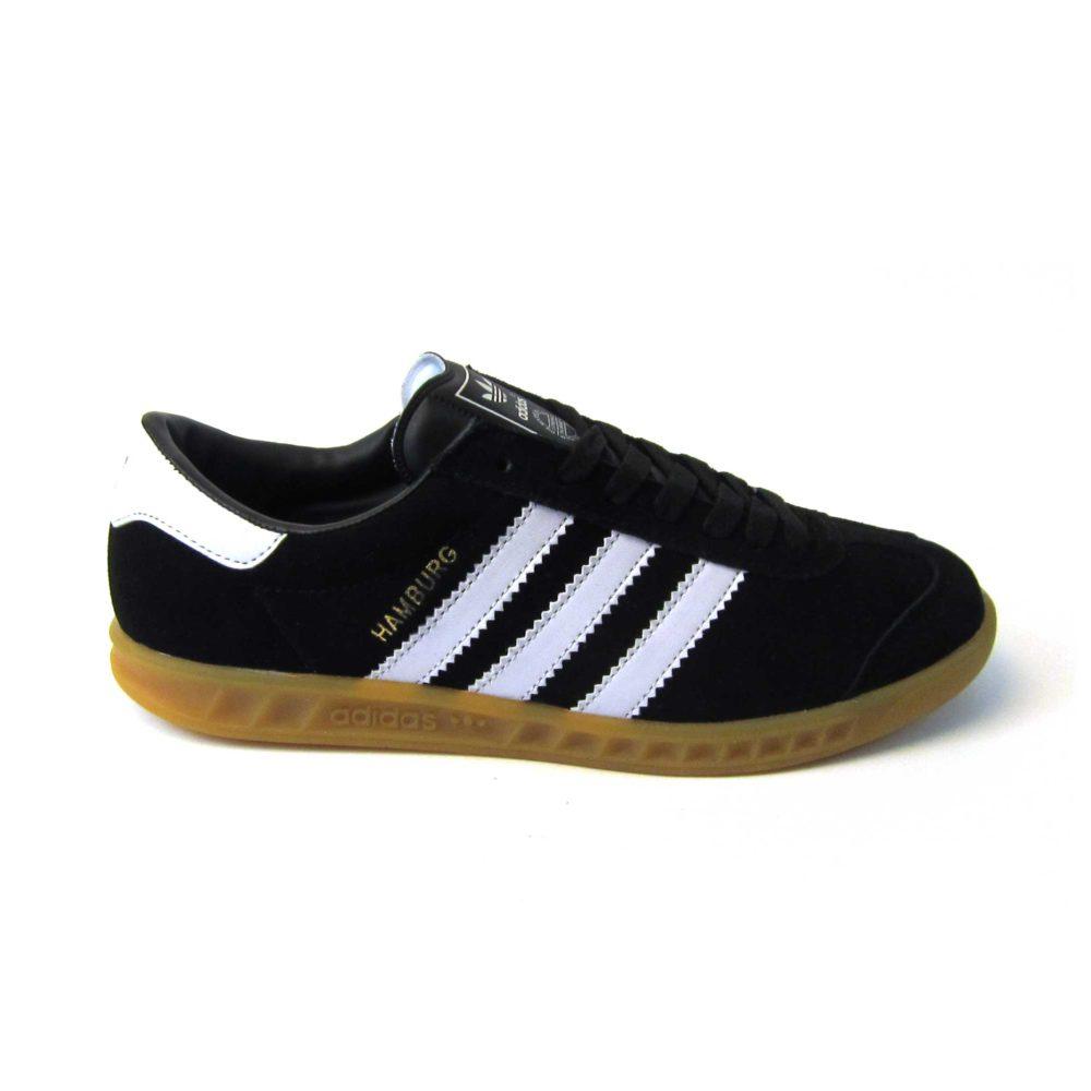 Adidas Hamburg Dark Black White