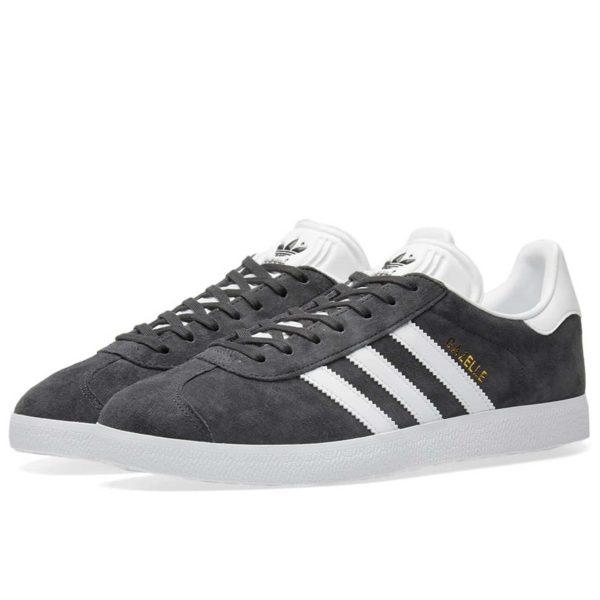 adidas gazelle grey white bb5480 cblack купить