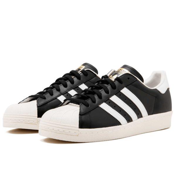 оригинальные adidas superstar 80s black white g61069 купить