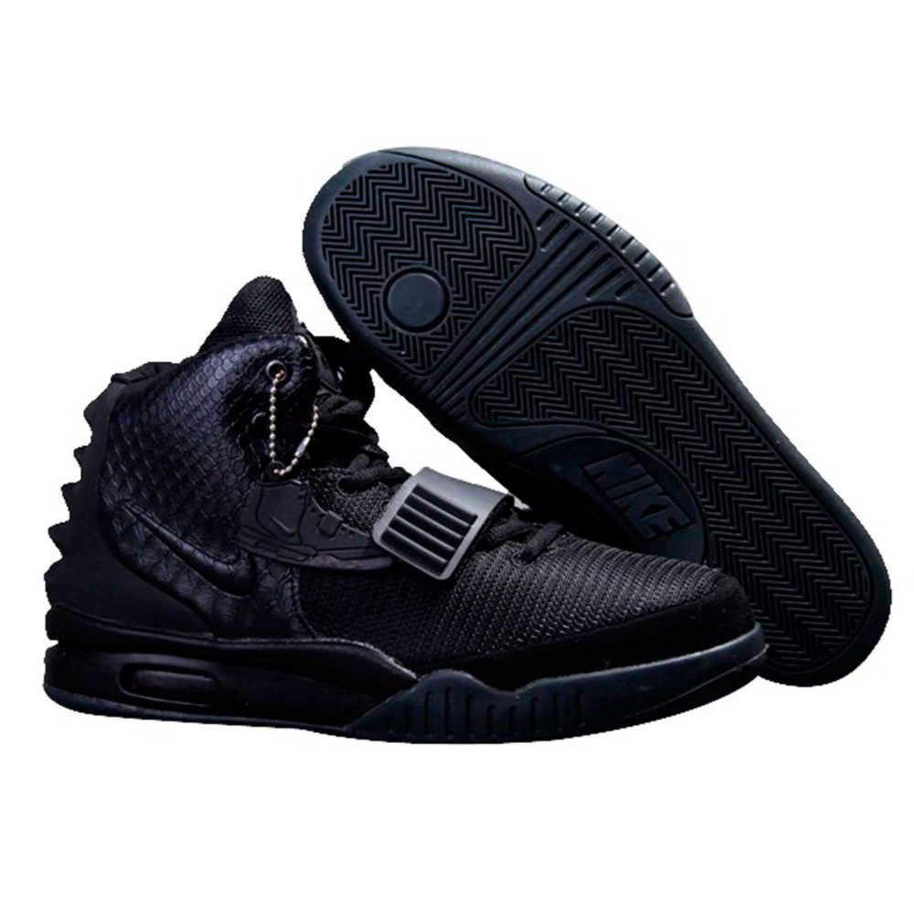 nike air yeezy 2 nrg all black 508214_025 купить