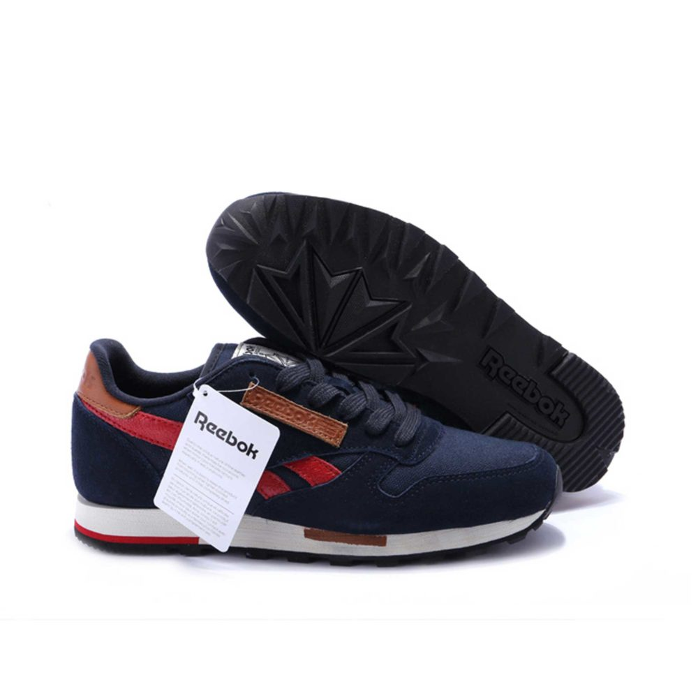 Интернет магазин купить Reebok Classic Leather Utility suede blue red