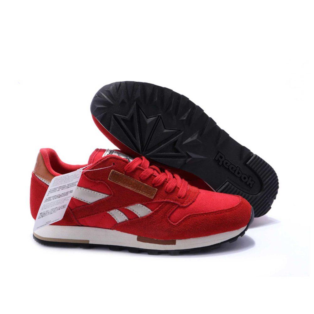 Интернет магазин купить Reebok Classic Leather Utility suede red white