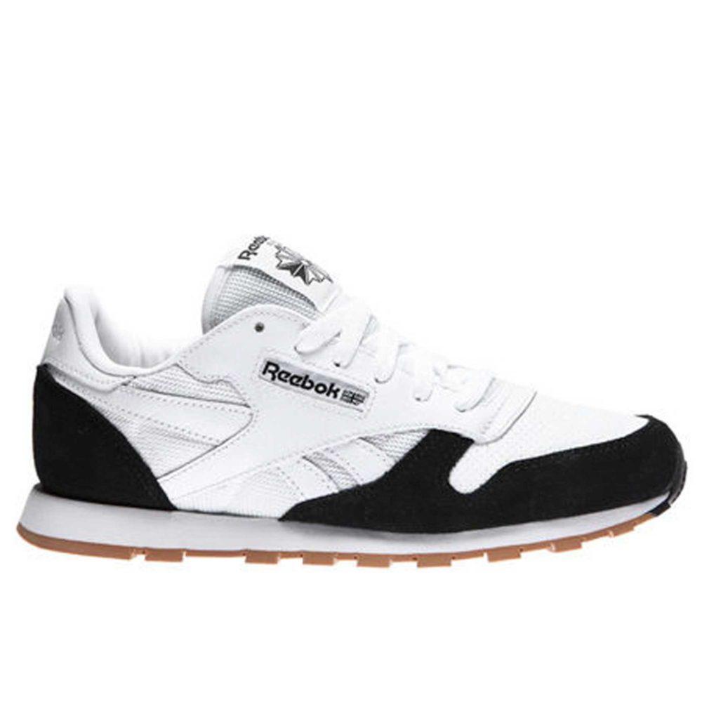 Интернет магазин купить Reebok Classic Leather SPP white black
