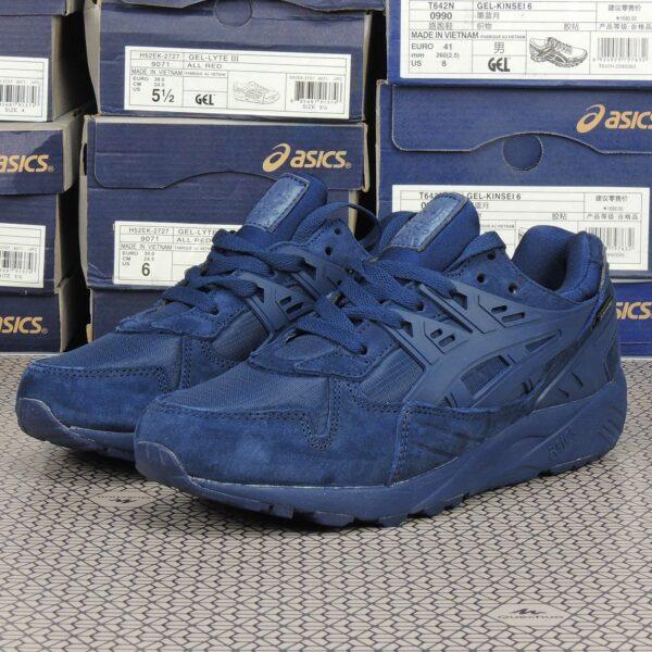 asics gel kayano trainer dark blue H5N4L-5050 купить