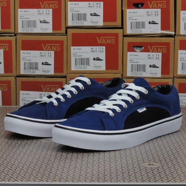 vans lampin blue black white купить
