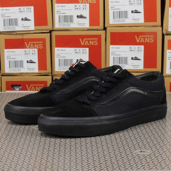 vans old skool all black купить