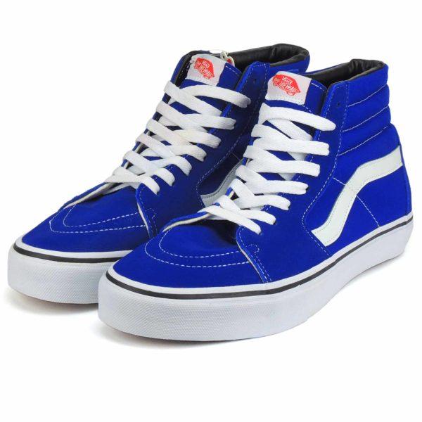 vans sk8-hi blue купить