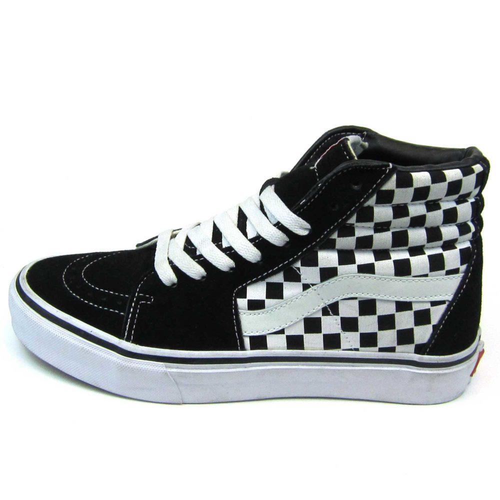 Интернет магазин купить оригинальные кеды Vans Sk8-Hi Checkerboard