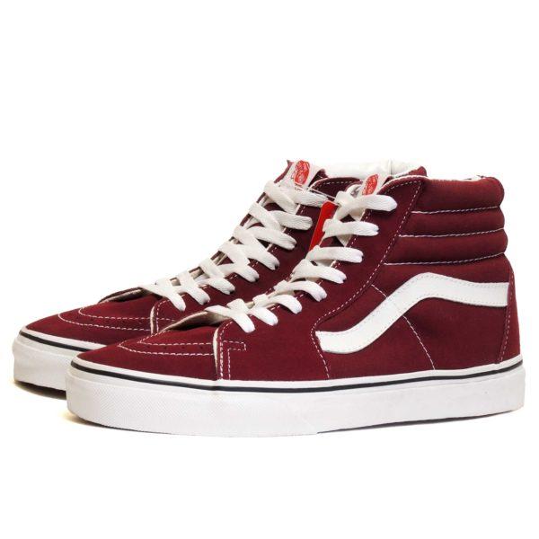 vans sk8-hi cherry cherry купить