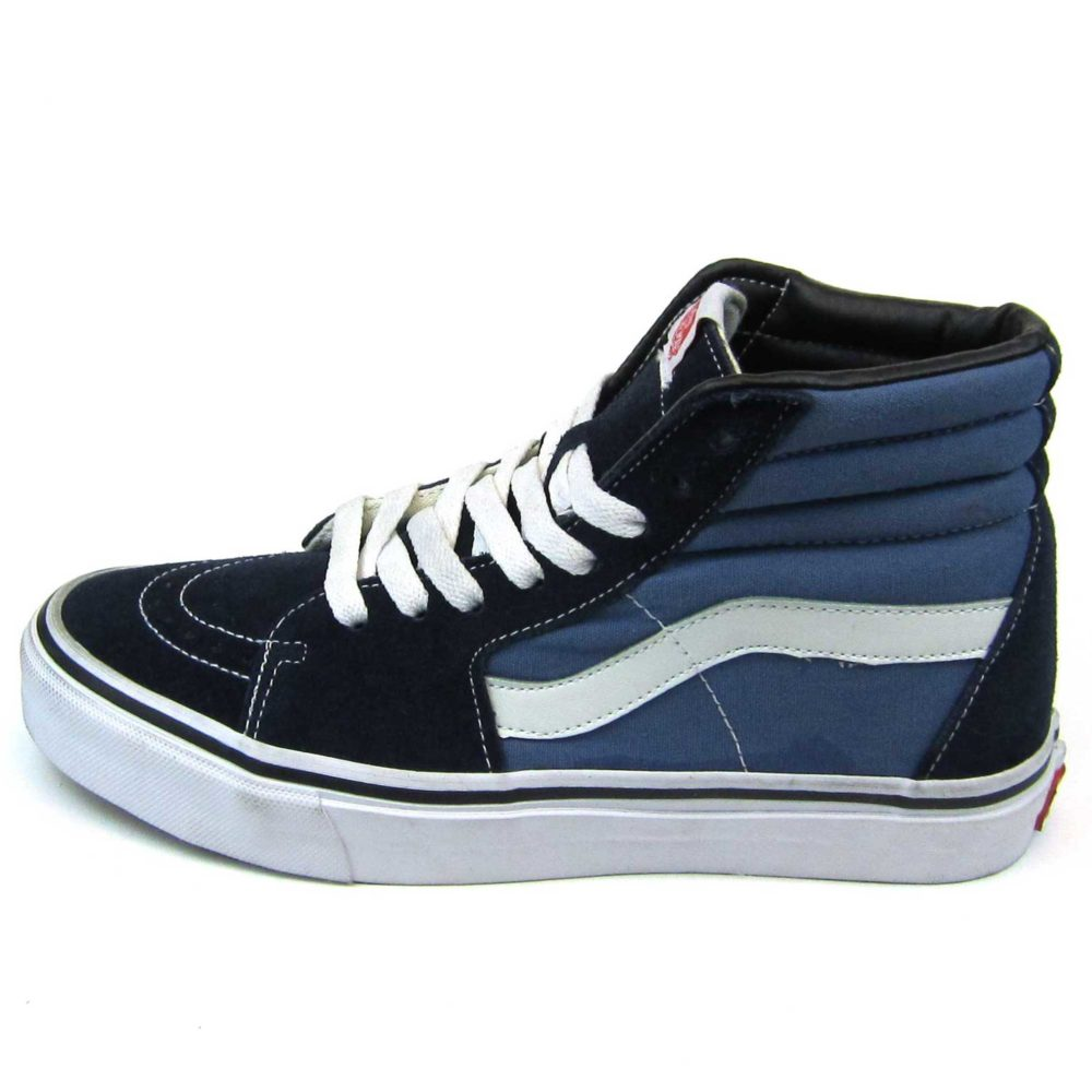 Интернет магазин купить оригинальные кеды Vans Sk8-Hi Navy Blue