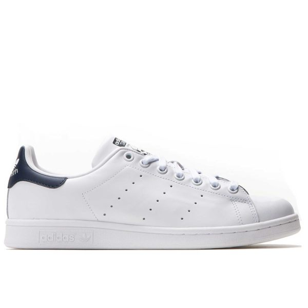 adidas stan smith leather white dark blue купить