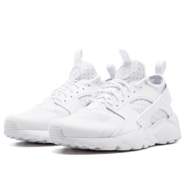nike air huarache ultra br triple white 819685_101 купить
