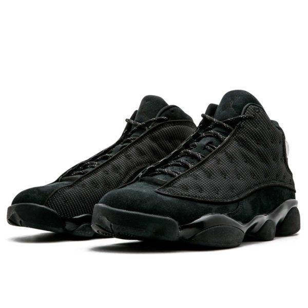 nike air Jordan 13 retro all black 414571-011 интернет магазин
