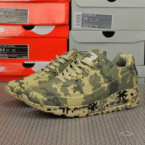 nike air max 90 VT camouflage green beige купить