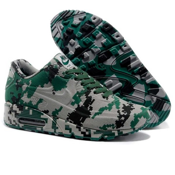 nike air max 90 VT camouflage green gray купить