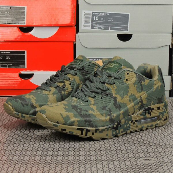 nike air max 90 VT military camouflage brown picsel купить