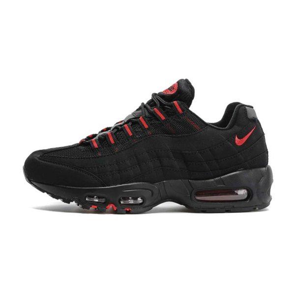 nike air max 95 black red 104220-006 купить