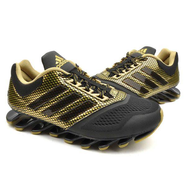 adidas springblade drive 2.0 navy black gold f37134 купить