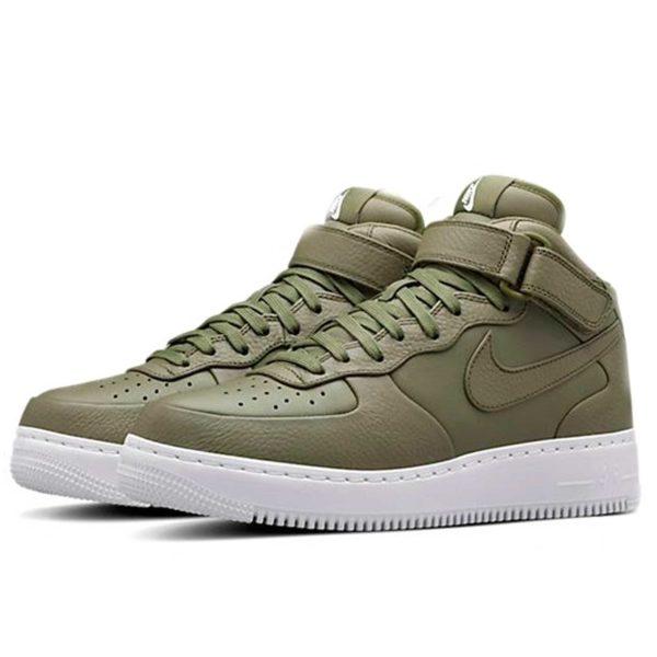 nikelab air force 1 mid urban haze white 819677_300 купить
