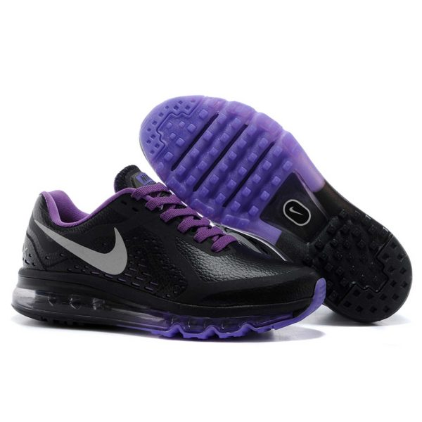 nike air max 2014 black purple купить
