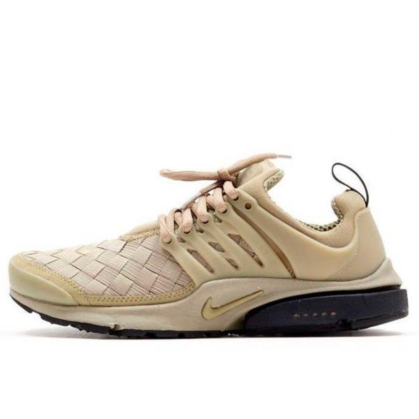 nike air presto se woven running beige купить