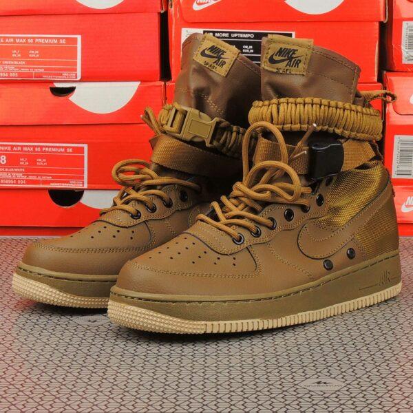 nike sf air force 1 golden beige 857872_200 купить