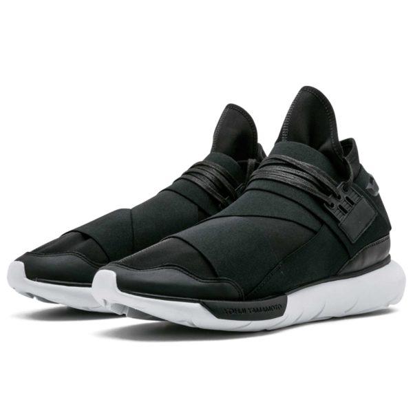 adidas Y-3 Qasa high black white AQ5499 купить