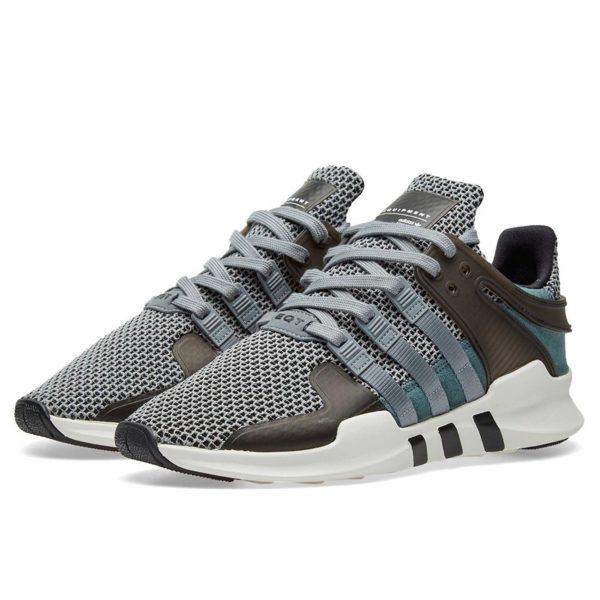 adidas eqt support adv grey core black ba8325 купить