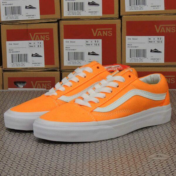 vans old skool orange купить
