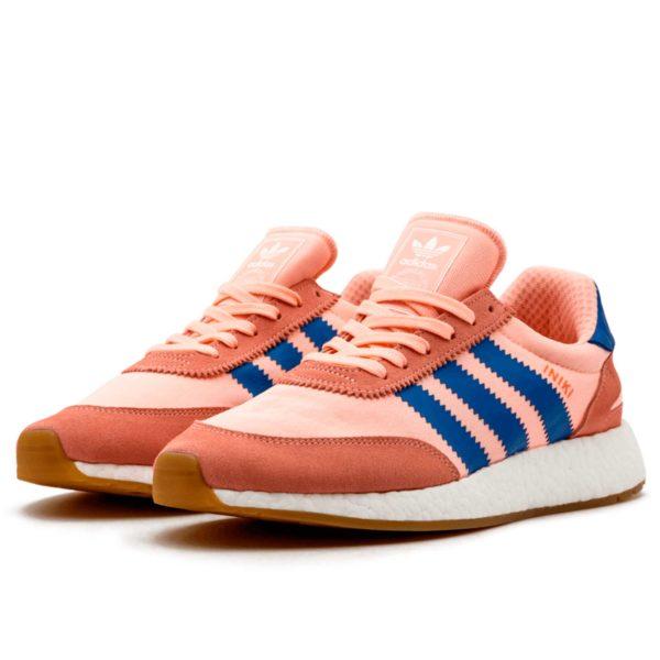 adidas iniki runner pink blue ba9999 купить