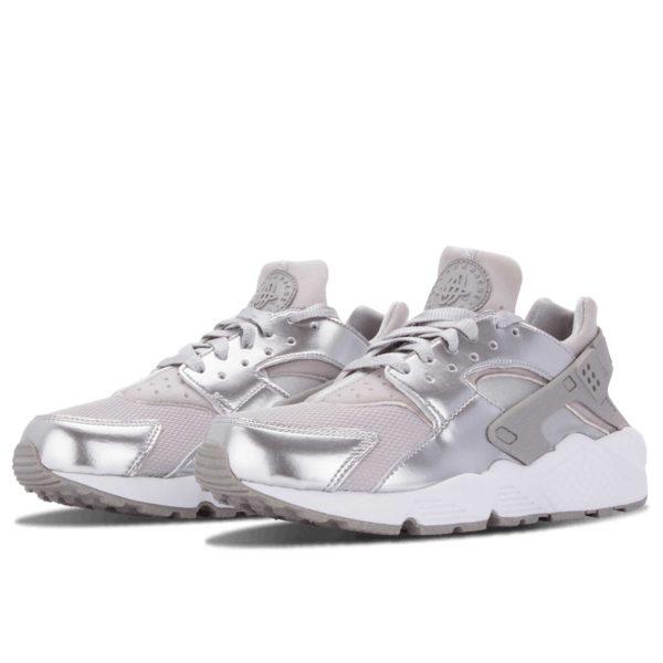 nike air huarache prm metallic silver 683818_001 купить