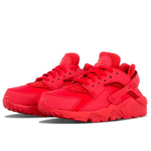 nike air huarache run all red 634835_601 купить