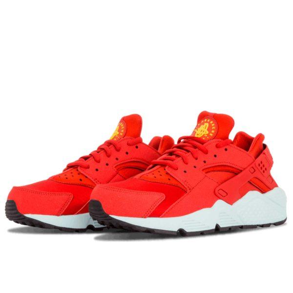 nike air huarache run red white 634835_600 купить