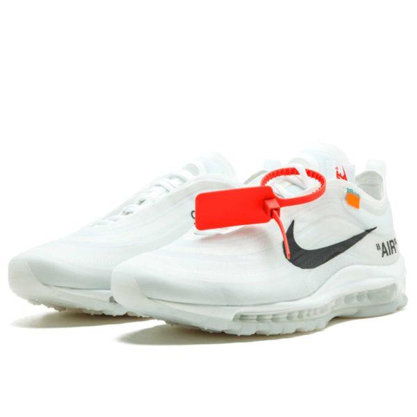 off white colection «The Ten» x nike air max 97 og AJ4585_100 купить